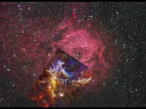 Rosette Nebula - Herschel and Robert Gendler