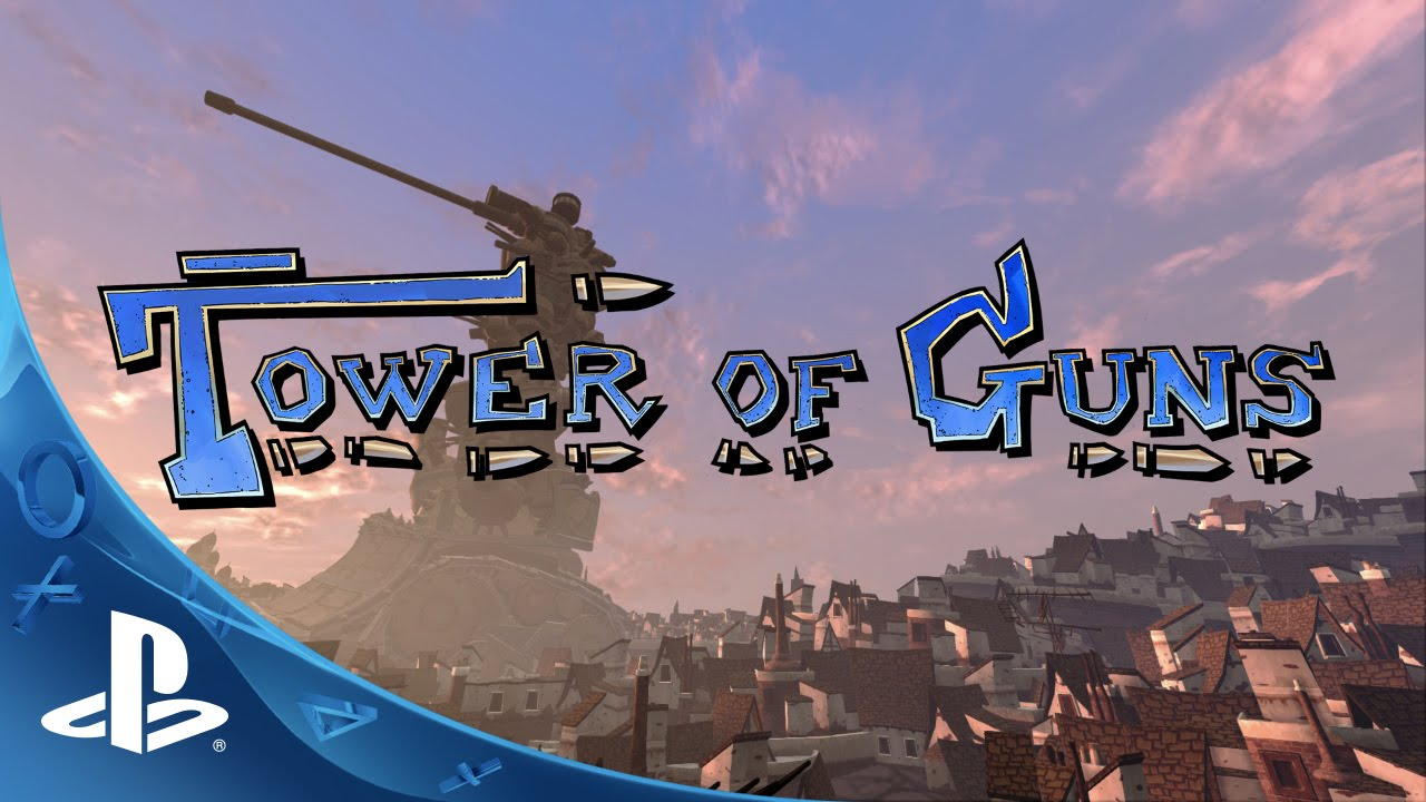 tower of guns announcement trailer ps4 ps3 youtube