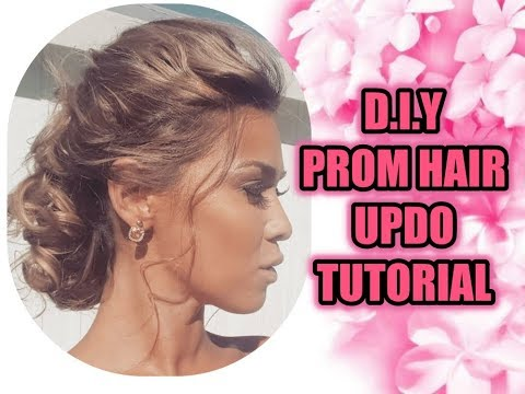 DIY PROM/WEDDING/RACES HAIR UPDO TUTORIAL