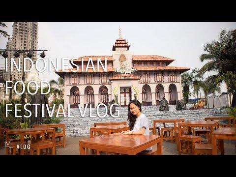 VISITING AN INDONESIAN FOOD FESTIVAL   Maria Tong