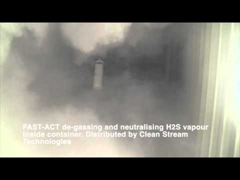 Clean Stream Technologies toxic H2S vapour removal demonstration