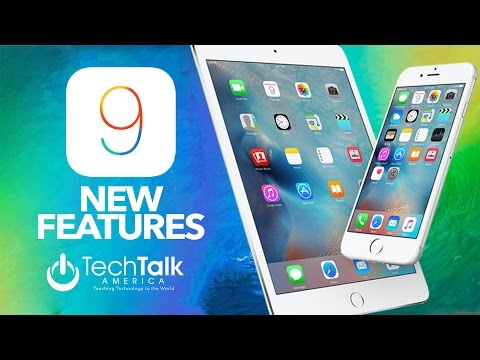 iOS 9 New Features - iPhone Version