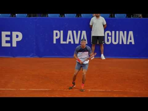 Paolo Lorenzi footwork slow motion - Lumix G7