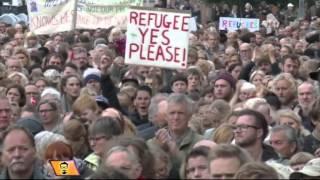 Немцы спасаются от наплыва беженцев в пригородах Мюнхена