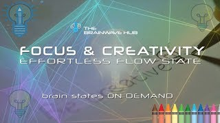 Focus & Creativity (Flow State) Isochronics Tones for Creative Thinking, Writing