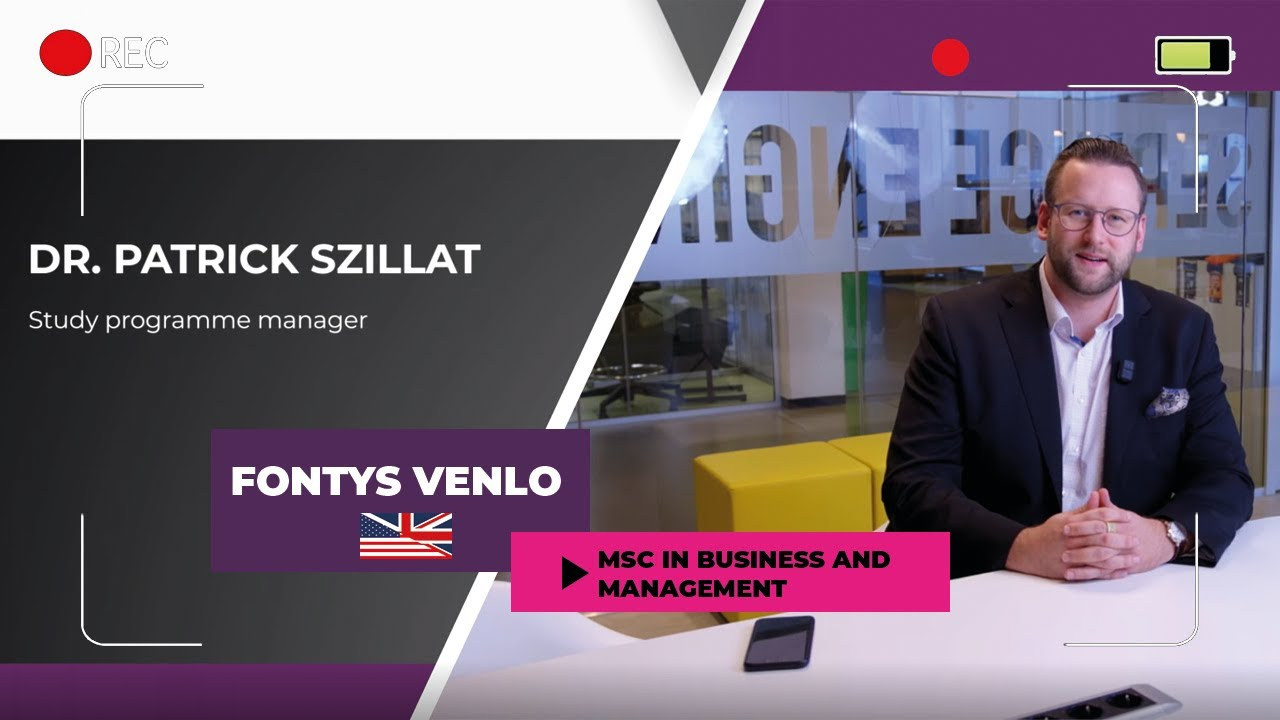 Fontys Univerzitet - Besplatni vebinar MSc in Business & Management, 14.april