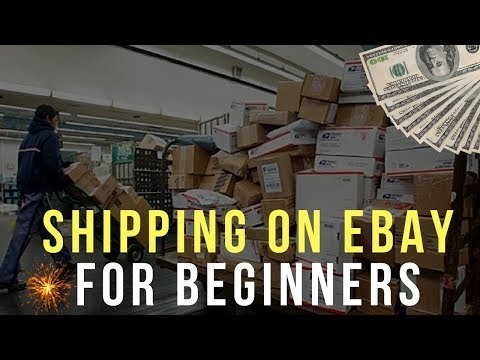 Shipping on eBay for Beginners 2019 ( Cheapest Method, Free Supplies, Tools )
