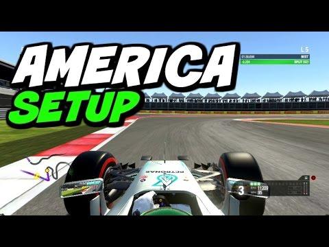 F1 2016 America Hotlap + Setup (1:35.834)