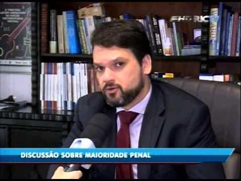 Presidente da OAB Subseção Itajaí participa de reportagem na RIC TV Record sobre Maioridade Penal