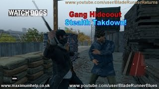 Watch Dogs: Gang Hideout Stealth Takedown! PC Maximum Graphical Settings 1080p HD