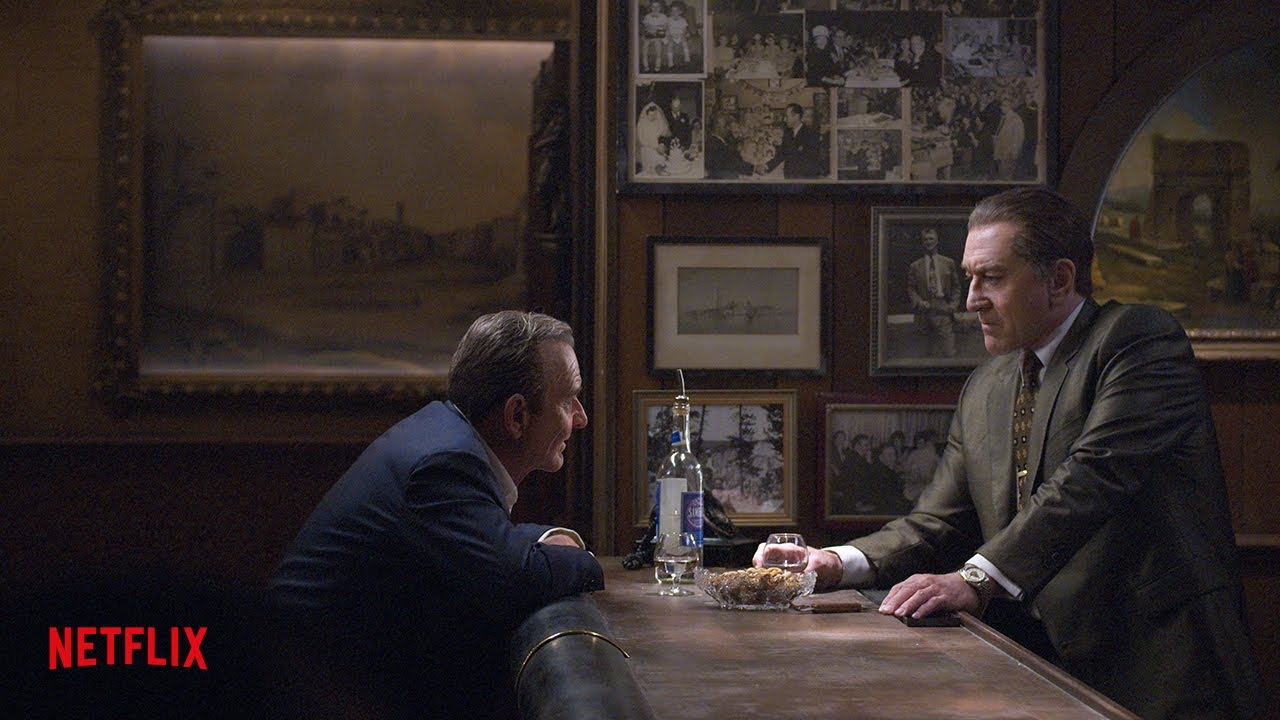 Eerste teaser van The Irishman op Netflix België