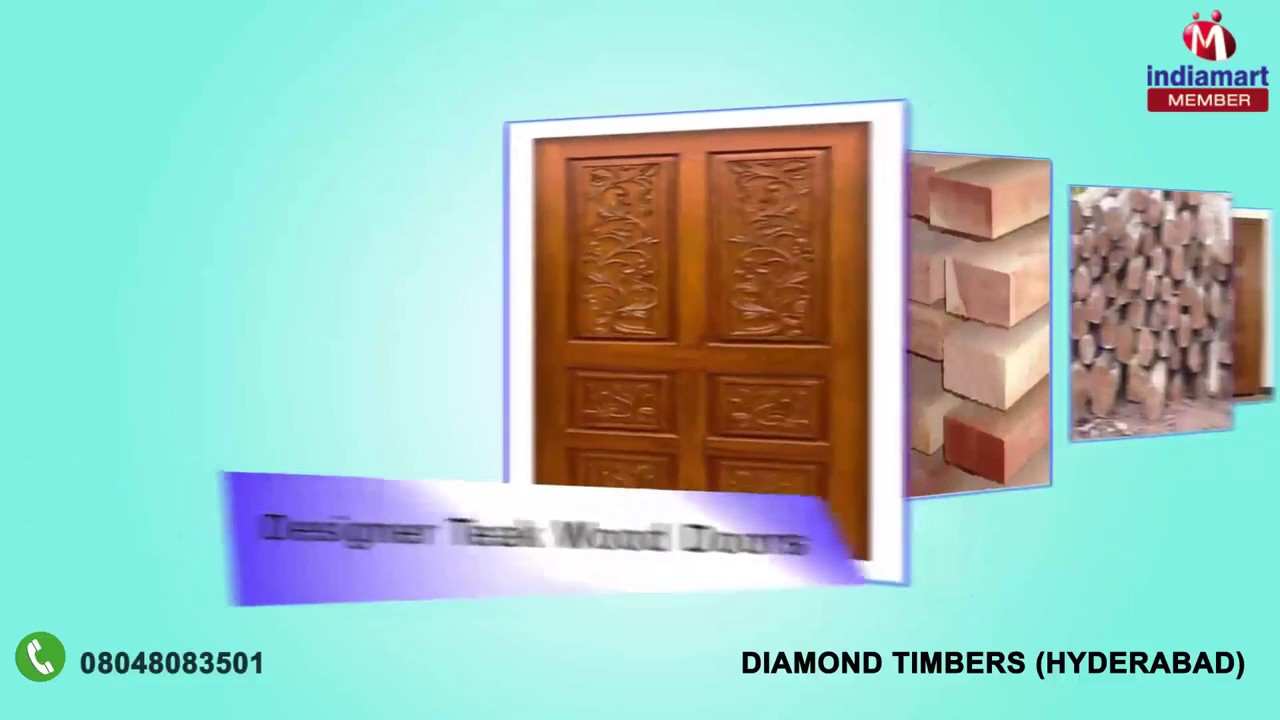 Pvc kitchen cabinet in hyderabad telangana india indiamart - Commercial Wood And Teak Wood Doors By Diamond Timbers Hyderabad