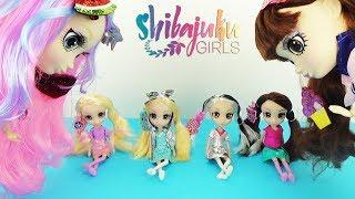 Куклы Шибаджуку мини Сюрпризы заколки! Обзор игрушек для девочек / Shibajuku Girls Shiba-Cuties