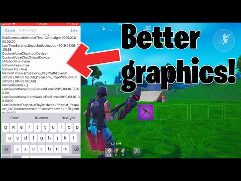 How to get better resolution on fortnite mobile