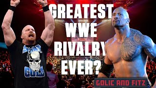 The Rock vs Stone Cold - Top WWE Rivalry ever?? | Golic and Fitz