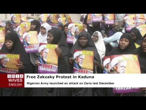 Academic Forum of Islamic Movement in Nigeria holds free Zakzaky protest in Kaduna