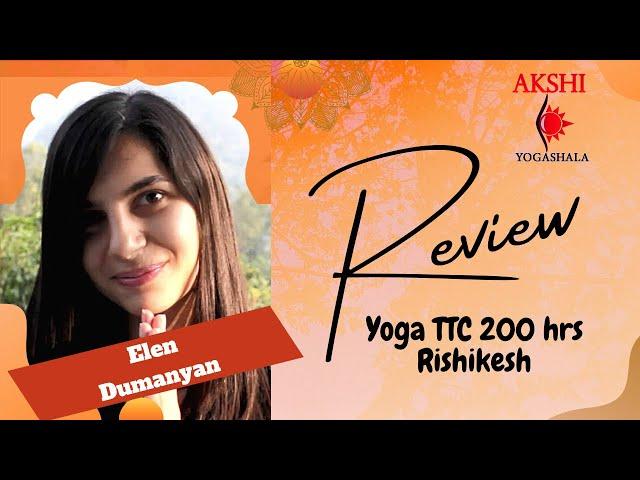 YTTC In Rishikesh Review Rus - Akshi Yogashala. Отзыв о курсе на русском языке