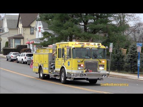 Village of Mamaroneck FD Engine 41 + Engine 40 Responding