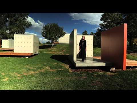 Andrea Zittel's Art Platforms at the Denver Federal Center