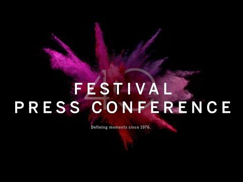 Festival Press Conference   TIFF 2015