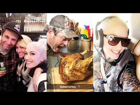 See Inside Gwen Stefani & Blake Shelton's Sweet Thanksgiving Together