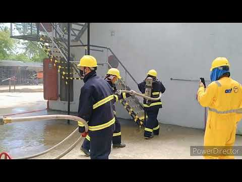 Advance Fire Fighting | How To Extinguish Accommodation Fire Onboard The Ship.