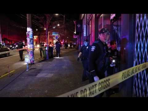 RAW Baltic Room Seattle Shooting scene