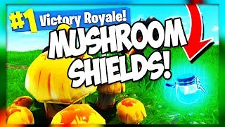 *NEW* MUSHROOM SHIELDS, SHOPPING CARTS, AND TEAMS OF 20V2 (Fortnite Battle Royale) PATCH V4.3