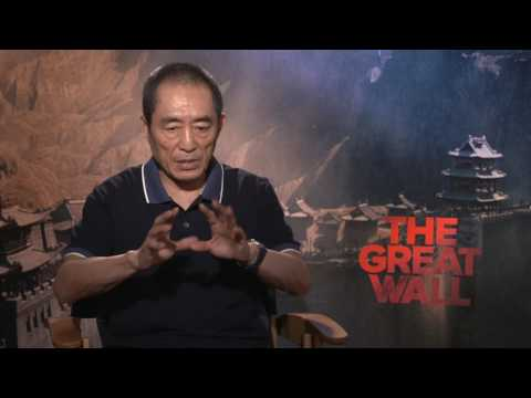 The Great Wall || Zhang Yimou Interview || SocialNews.XYZ