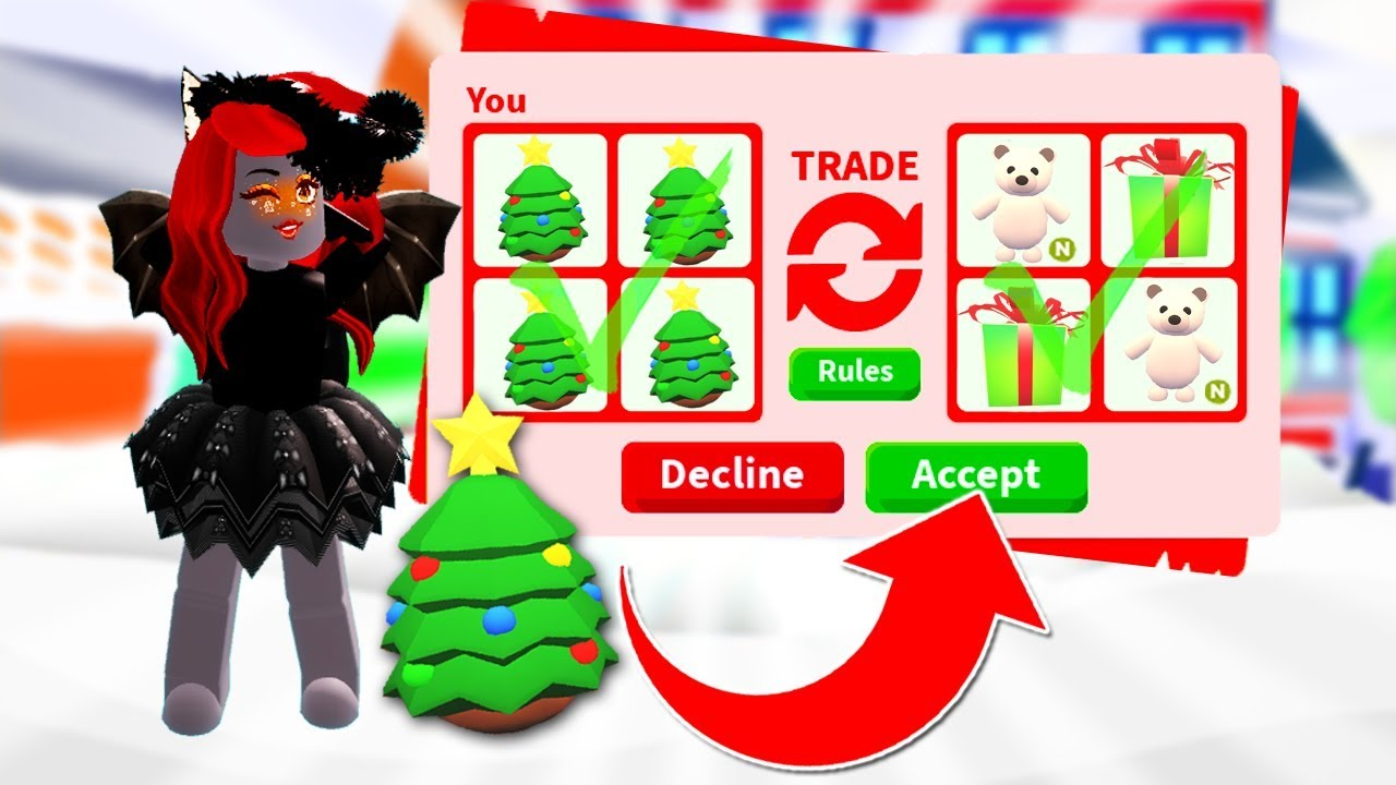 Trading CHRISTMAS EGGS ONLY In Adopt Me! (Roblox) - YouTube