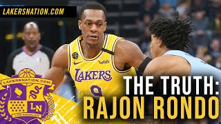 Can rajon rondo still help the lakers, or is he better off on bench?los angeles lakers✔️ us continue to provide lakers coverage and subscribe: https...