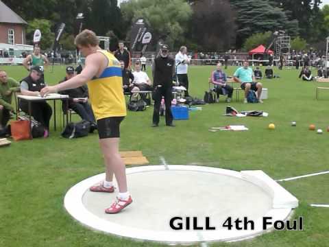 international track meet christchurch 2012