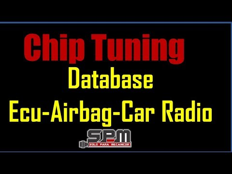 Chip Tuning Ecu Airbag Car Radio Database