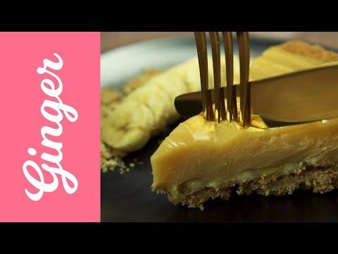Peanut Butter & Banana Pie | PEANUT BUTTER PIE