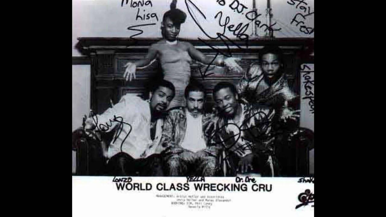 World Class Wrecking Crew Album Cover World Class Wreckin Cru Dre s