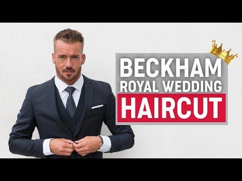 David Beckham Hairstyle 2018 | Royal Wedding