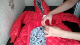 2 детские куртки распаковка и обзор  aliexpress.com