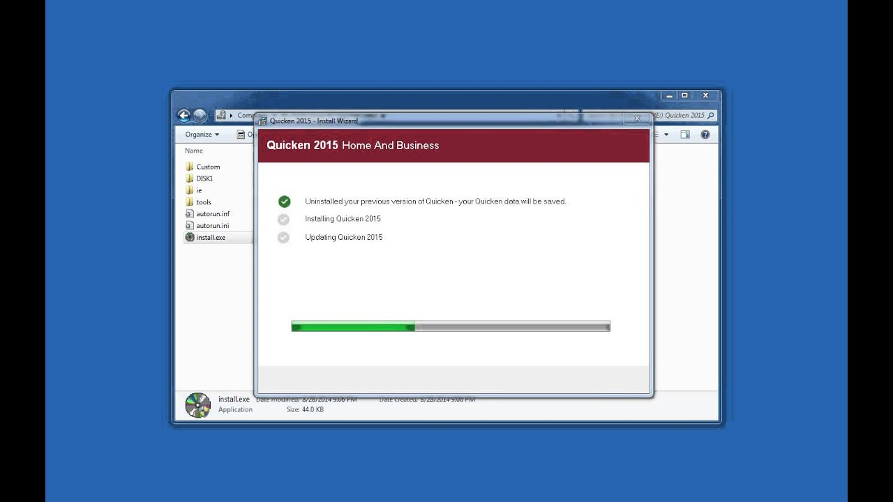 How To Install Quicken 2015