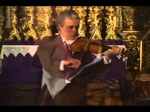Bach Violin Sonata BWV 1003 A minor 2 Fuga Haroutune Bedelian   YouTube