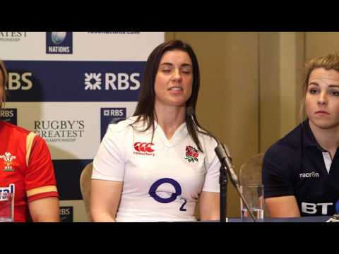 England's Sarah Hunter talks about this years Women's Six Nations