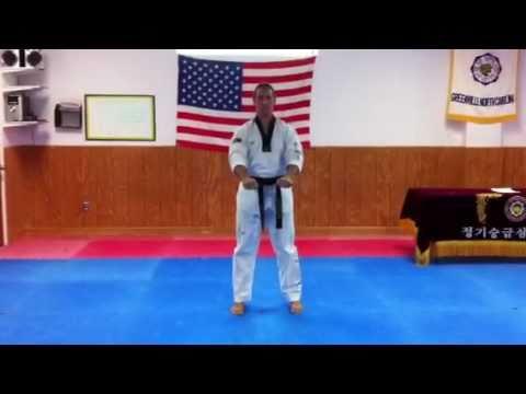 King Tiger Tae Kwon Do White Belt Poomsae Kwon Sool