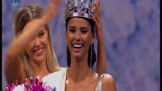 The crowning of Tamaryn Green as Miss South Africa 2018
