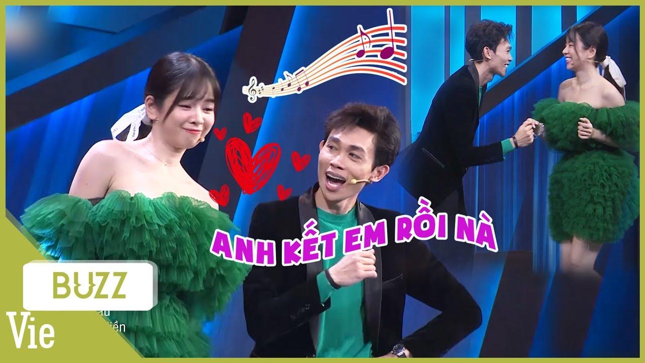 Couple vạn người mê Mie - Hồng Thanh siêu đáng yêu với Anh Kết Em Rồi trên sân khấu Sao Hỏa Sao Kim