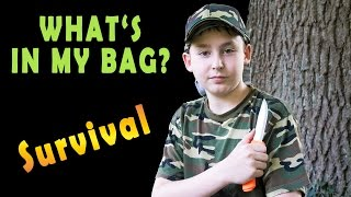 What's in my Bag - mein Survival-Rucksack
