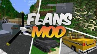 Обзор модов Minecraft 1 7 2 №1  Flans mod
