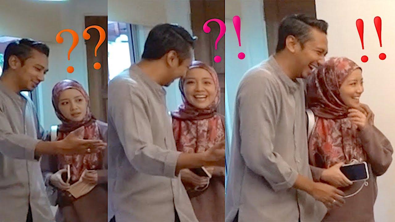 Wan Emir ❤️ surprised Mira Filzah 💛??  (...🤫 husband challenge accepted!)