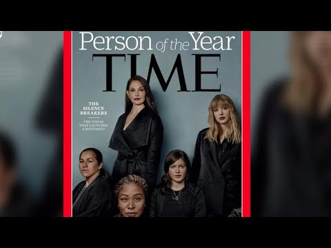 """Time's Person of the Year is the """"silence breakers"""" of the #MeToo movement"""