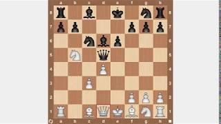 Обучение шахматам. Самый опасный гамбит. Сицилианская защита.