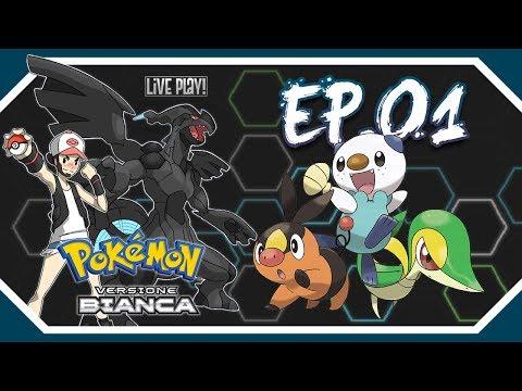 Gameplay live Pokémon Bianco #1 - La scelta dello starter!