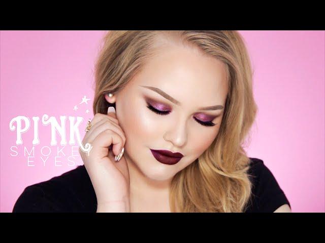 Berry/Pink Smokey Eye Tutorial - Vampy Lips